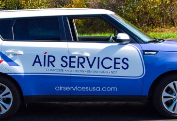Air Services Car Wraps Photo - My Gorilla Graphics