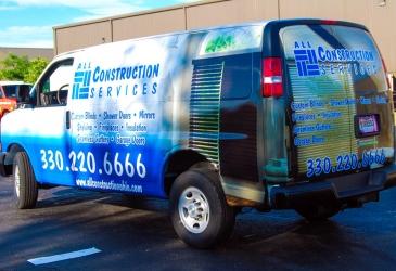 Construction Services Vehicle Wraps Photo - My Gorilla Graphics