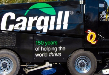 Vehicle Wraps On A Zamboni Image - My Gorilla Graphics