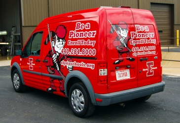 Be A Pioneer Vehicle Wraps Image - My Gorilla Graphics
