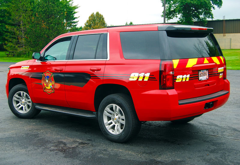 My Gorilla Graphics Brunswick Oh Emergency Vehicle